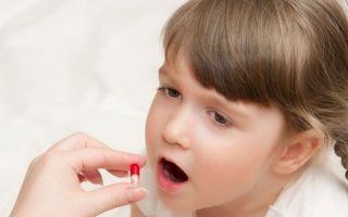 11 видов антибиотиков для детей при кашле и насморке