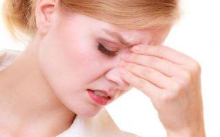 5 возможных заболеваний, если болит лоб при насморке