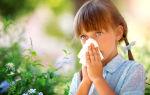 Аллергический ринит у детей — 6 причин и лечене