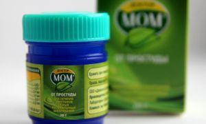 4 побочных эффекта мази Доктор Мом от насморка, показания и противопоказания