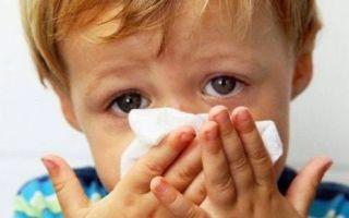 Затяжной насморк у ребенка: как лечить и чем?