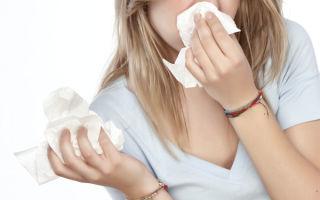 Как остановить сильный насморк, что делать если есть течь из носа, что поможет?