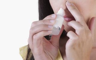 6 препаратов капель для носа с антибиотиком при гайморите