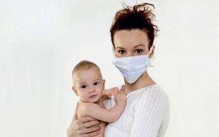 Лечение насморка у кормящей мамы: капли и другие средства