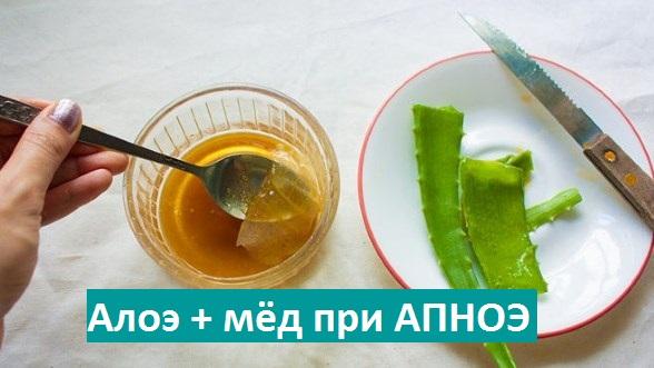 Аллоэ и мёд от кашля