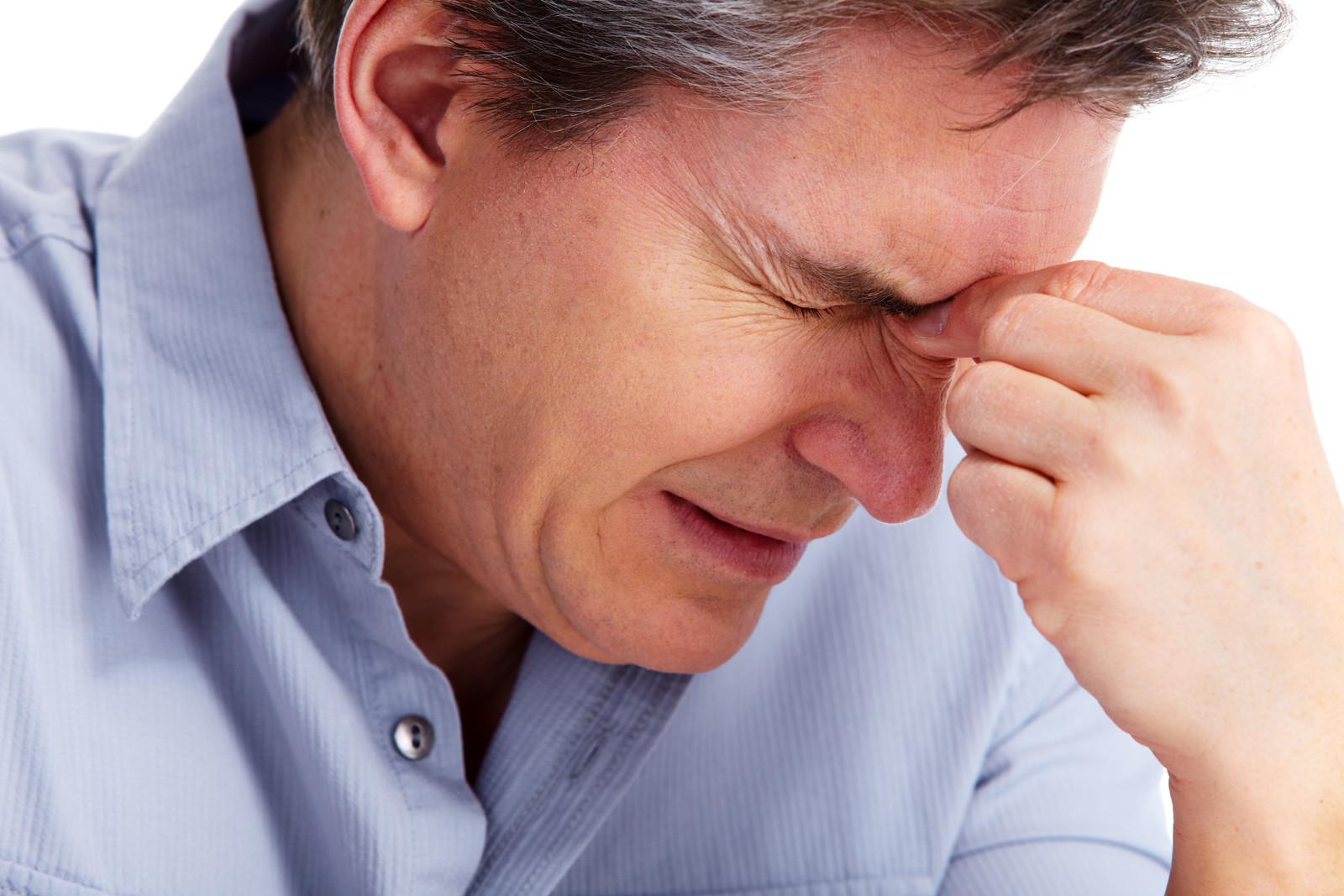 Головная боль отдает в нос и ухо